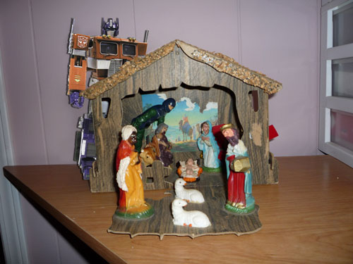 Optimus Prime Nativity